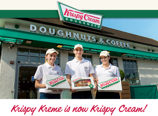 Krispy Kreme April Fool