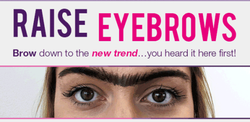 Superdrug April Fool
